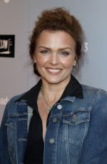 DINA MEYER at Sharkando 3: Oh Hell No! Premiere in Los Angeles