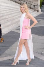 ELENA PERMINOVAATTEND at Versace Fashion Show in Paris