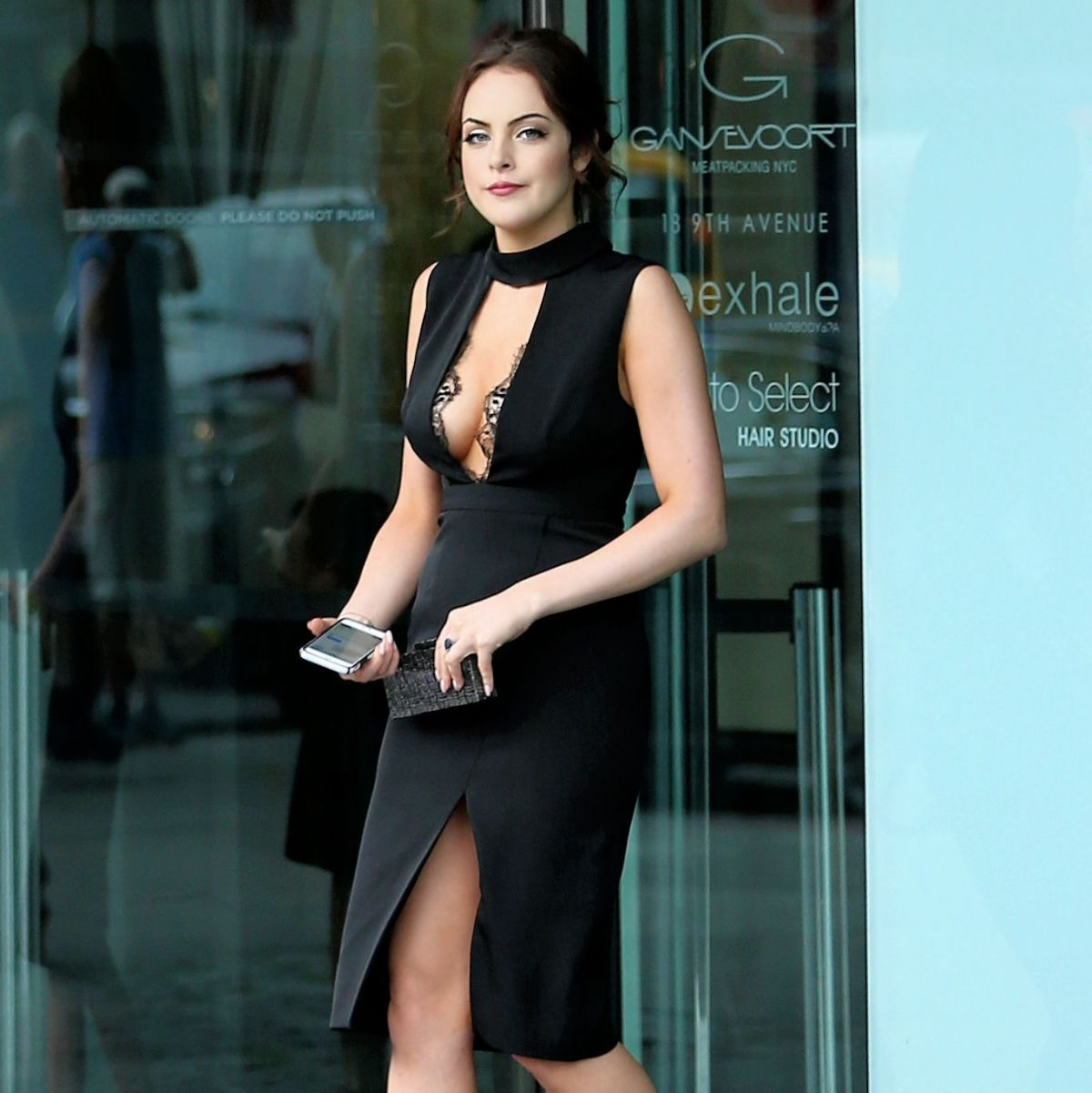 elizabeth gillies leaves her hotel in new york 07 14 2015 hawtcelebs