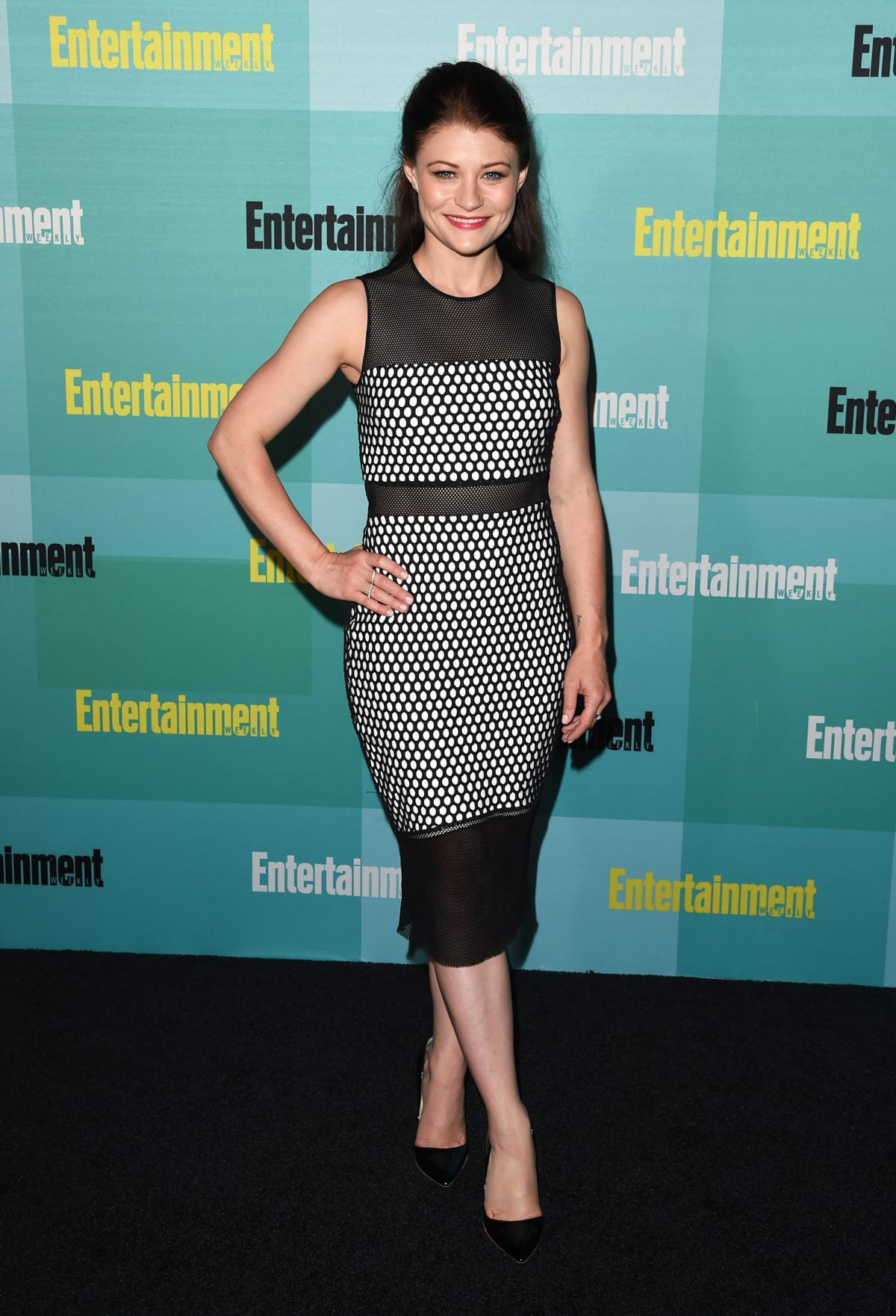 EMILIE DE RAVIN at Entertainment Weekly Party at Comic-con in San Diego