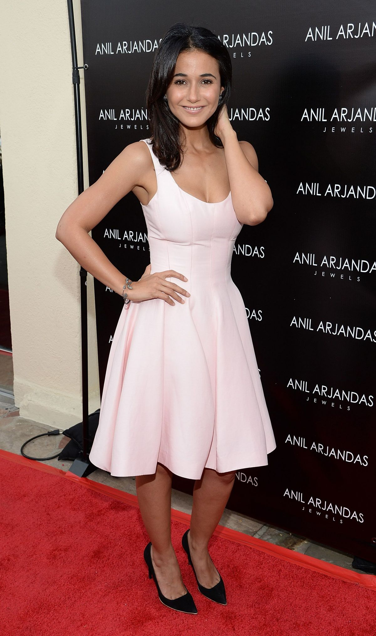2f29386fe EMMANUELLE CHRIQUI at Anil Arjandas Jewels US Flagship Store Opening in  West Hollywood