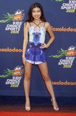ERIKA THAM at Nickelodeon Kids' Choice Sports Awards in Westwood