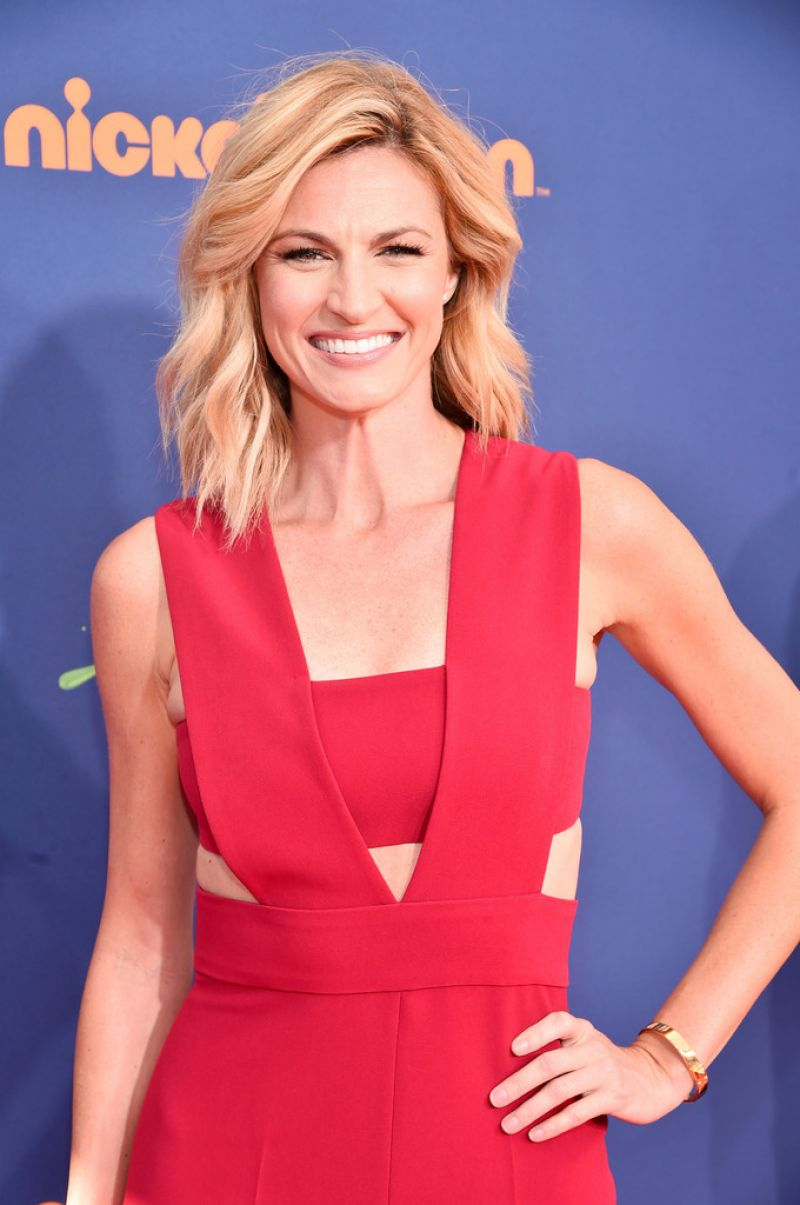 ERIN ANDREWS at Nickelodeon Kids