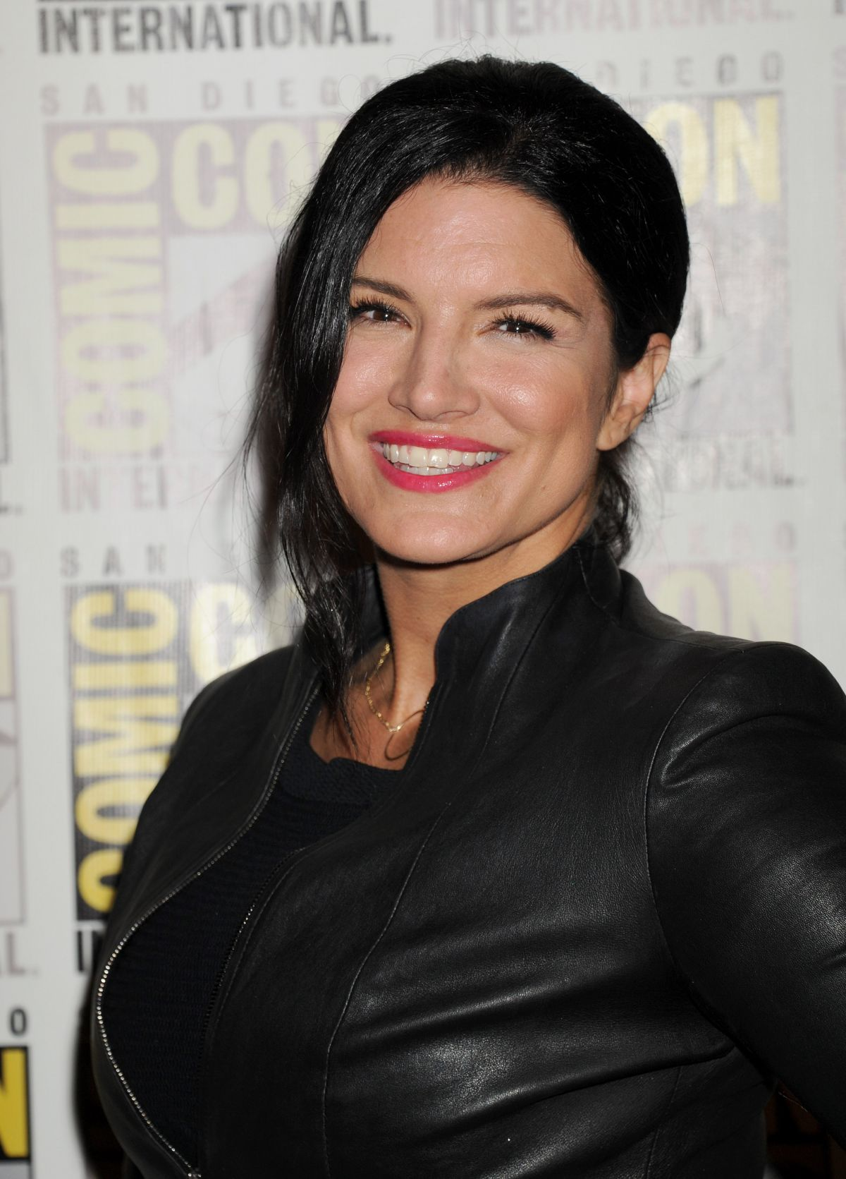GINA CARANO at 20th Century Fox Panel at Comic-con in San Diego