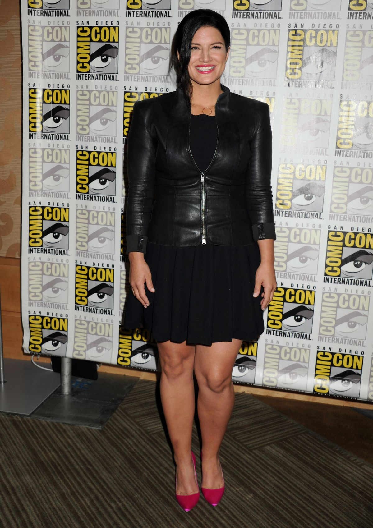 GINA CARANO at 20th Century Fox Panel at Comic-con in San ...