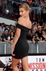 HAILEY, IRELAND and ALAIA BALDWIN at Mission: Impossible – Rogue Nation Premiere in New York