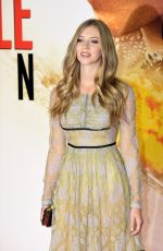 HERMIONE CORFIELD at Mission: Impossible - Rogue Nation Premiere in London