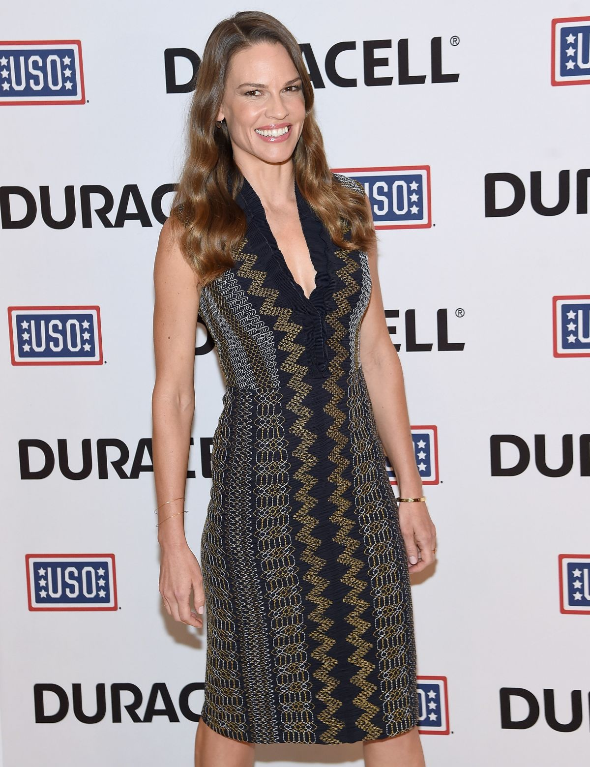 HILARY SWANK at Comfort Crew for Military Kids Event in New York