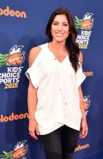 HOPE SOLO at Nickelodeon Kids' Choice Sports Awards in Westwood