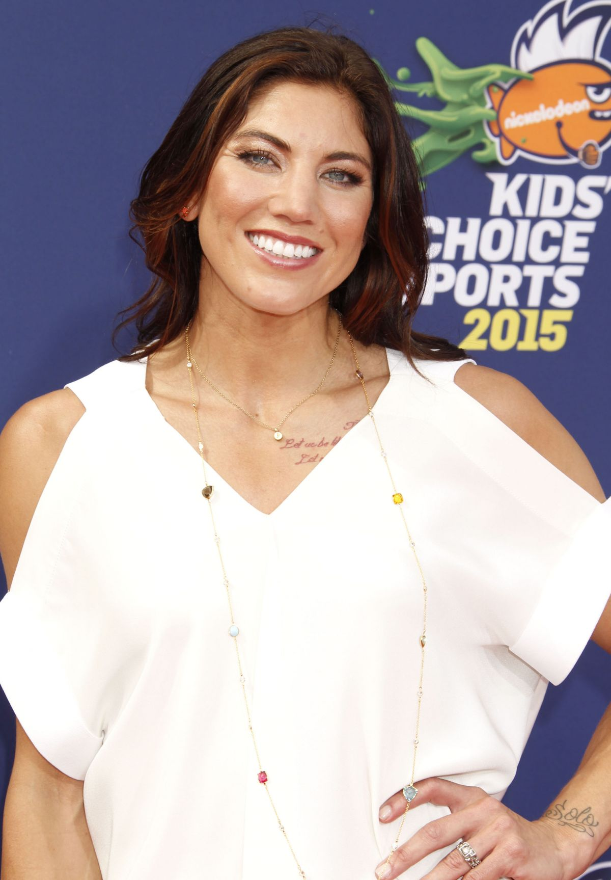 Solo: HOPE SOLO At Nickelodeon Kids' Choice Sports Awards In
