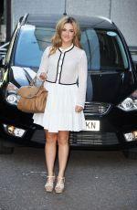 ISABEL HODGINS at ITV Studios in London 06/25/2015