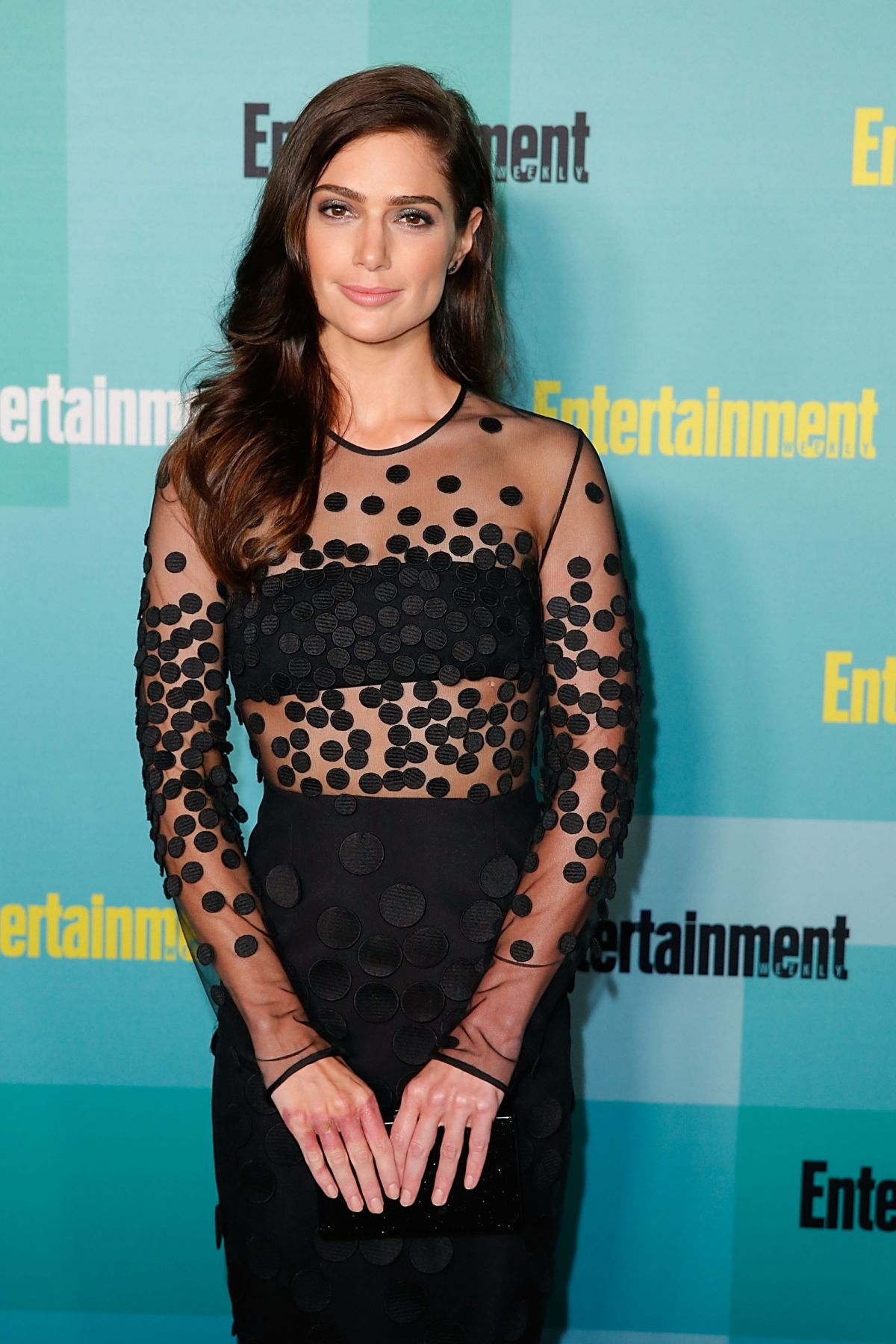 JANET MONTGOMERY at Entertainment Weekly Party at Comic-con in San Diego