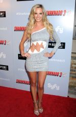 JENA SIMS at Sharkando 3: Oh Hell No! Premiere in Los Angeles