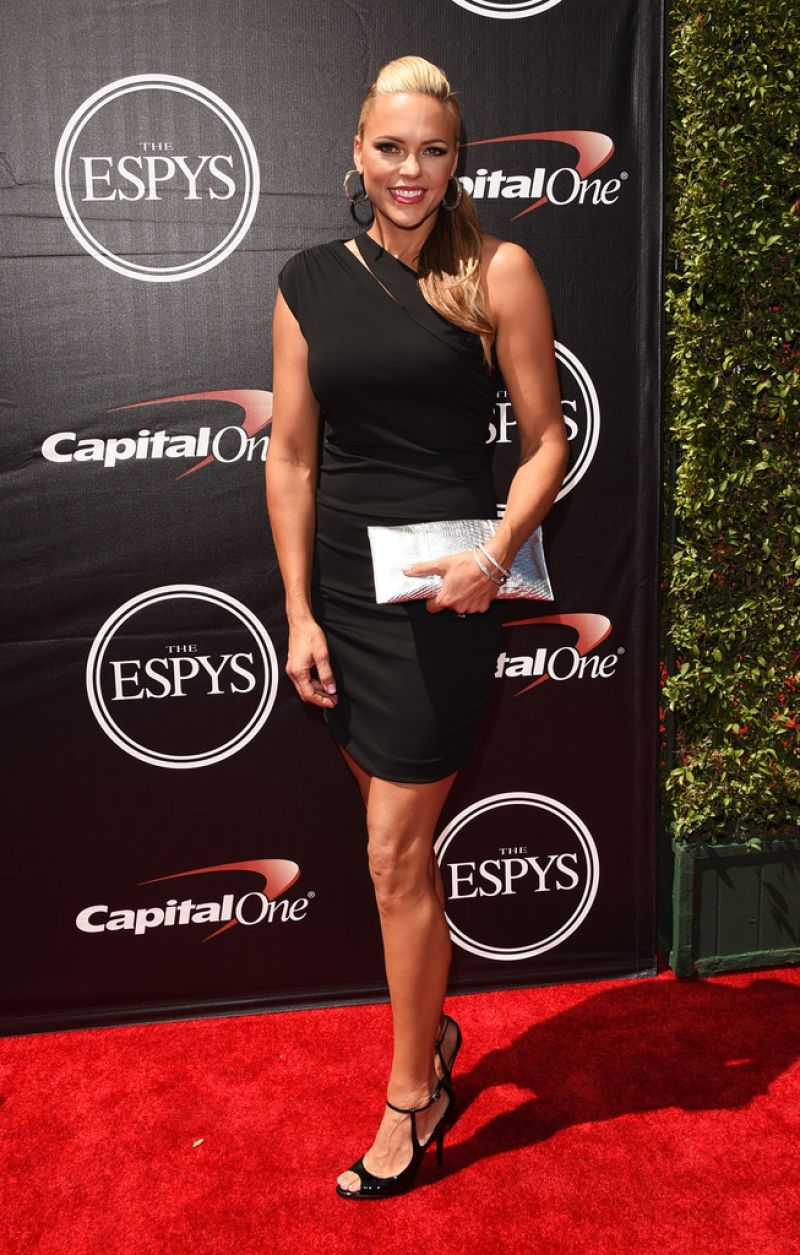 JENNIE FINCH at 2015 Espys Awards in Los Angeles
