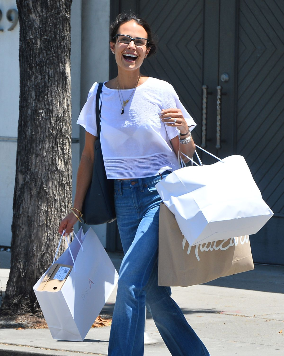 JORDANA BREWSTER in Jeans Out Shopping in Los Angeles 07/30/2015 ...