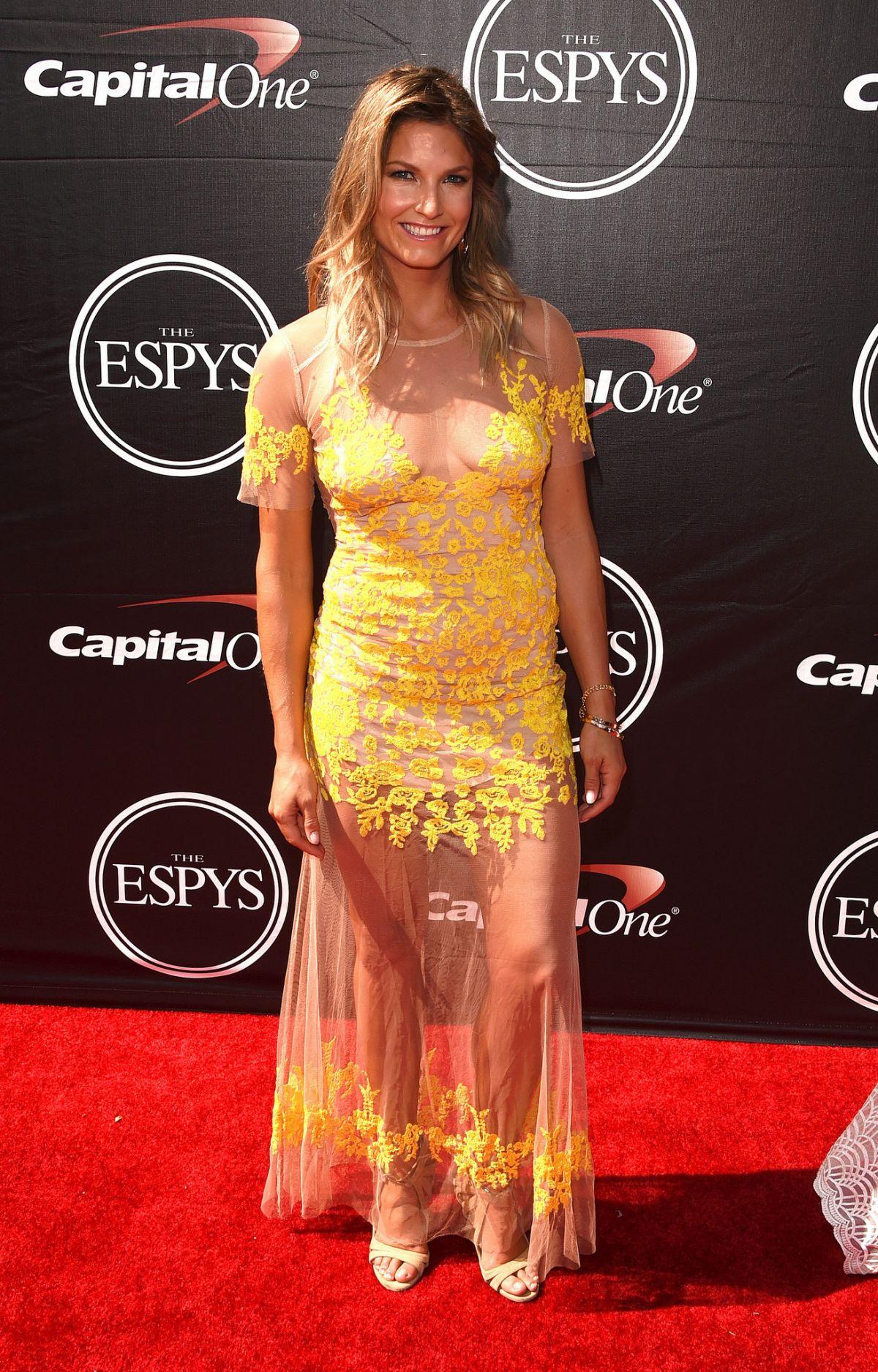 JULIA MANCUSO at 2015 Espys Awards in Los Angeles
