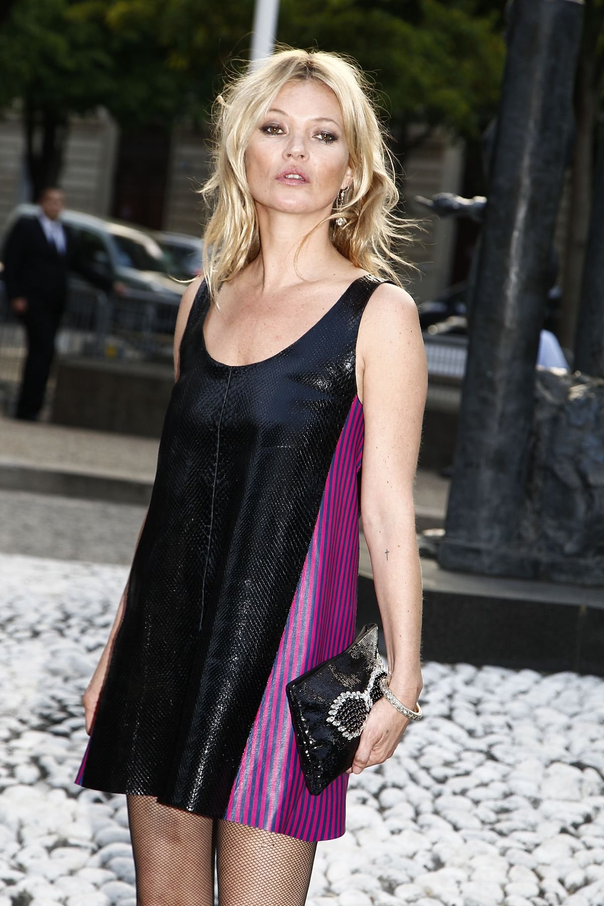 171739fa102e KATE MOSS at Miu Miu Fragrance and Croisiere 2016 Collection Launch in Paris