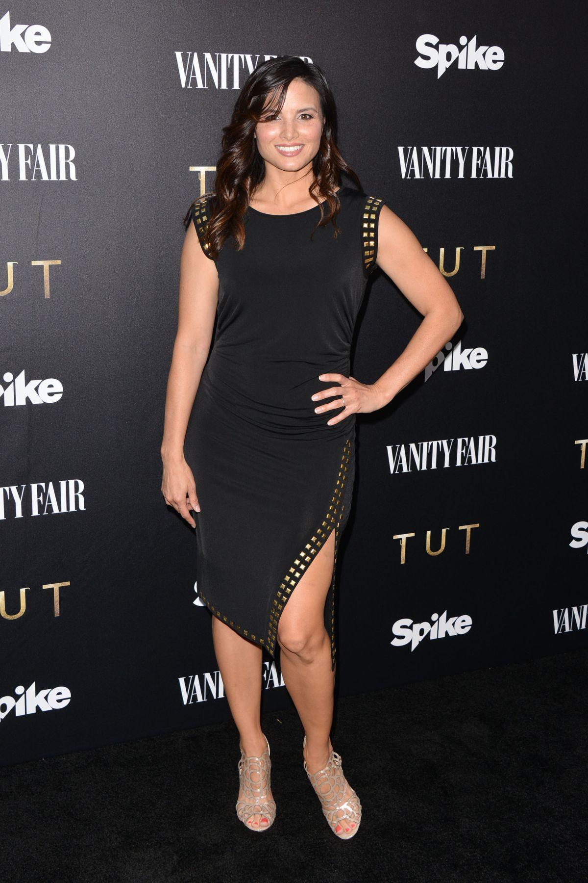 KATRINA LAW at Vanity Fair and Spike TV Celebrate Tut Series Premiere in Los Angeles