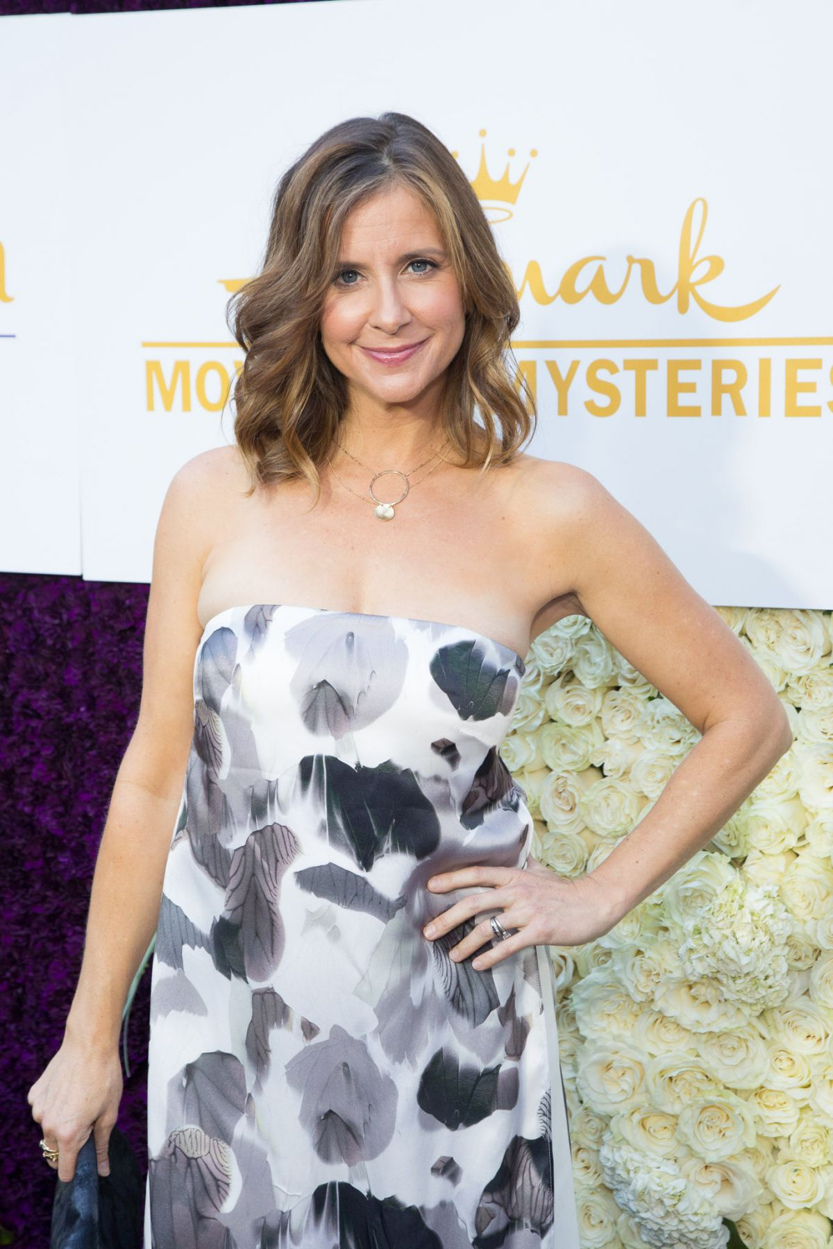 KELLIE MARTIN at Crown Media Family Networks