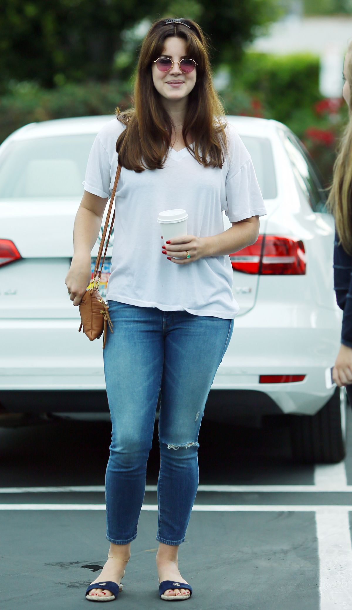 LANA DEL REY Out and About in Los Angeles 07/19/2015