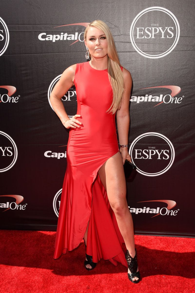 LINDSEY VONN at 2015 Espys Awards in Los Angeles - HawtCelebs ...
