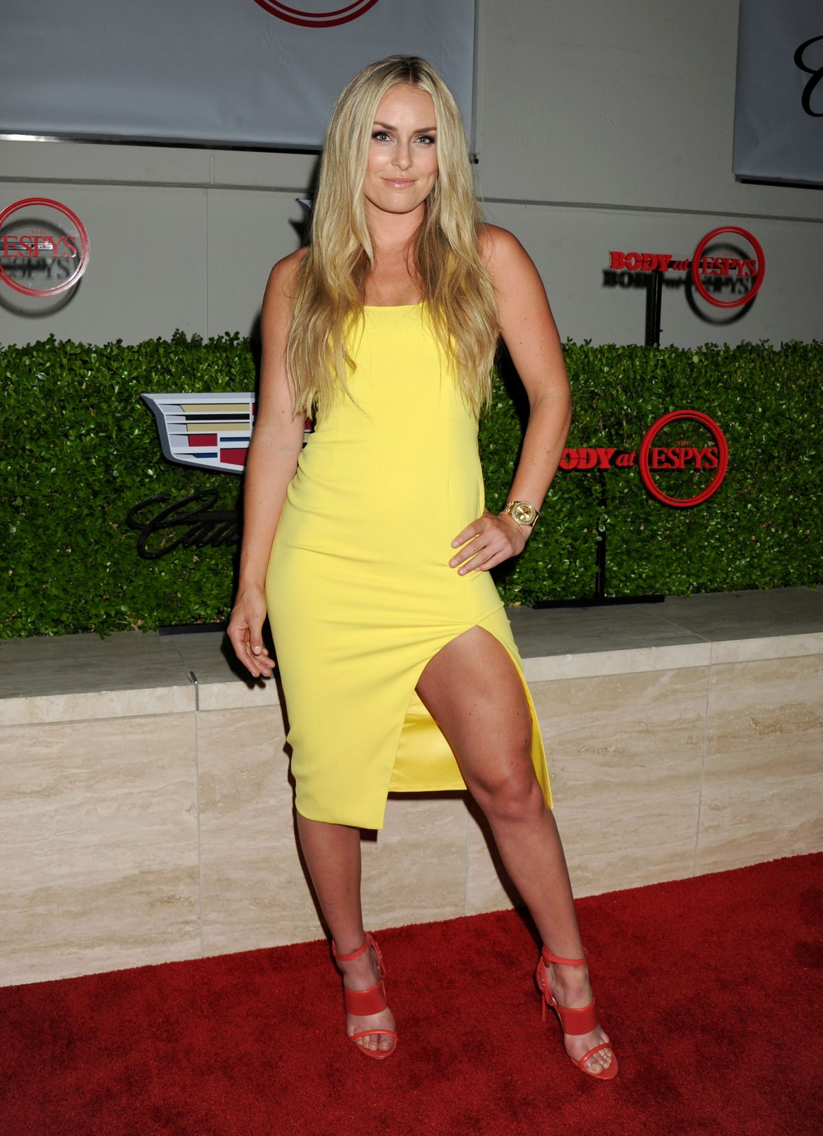 LINDSEY VONN at Body at Espys at Milk Studios in Hollywood ...