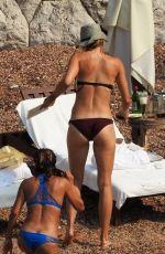 MARIA SHARAPOVA in Bikini at a Beach in Montenegro 07/19/2015