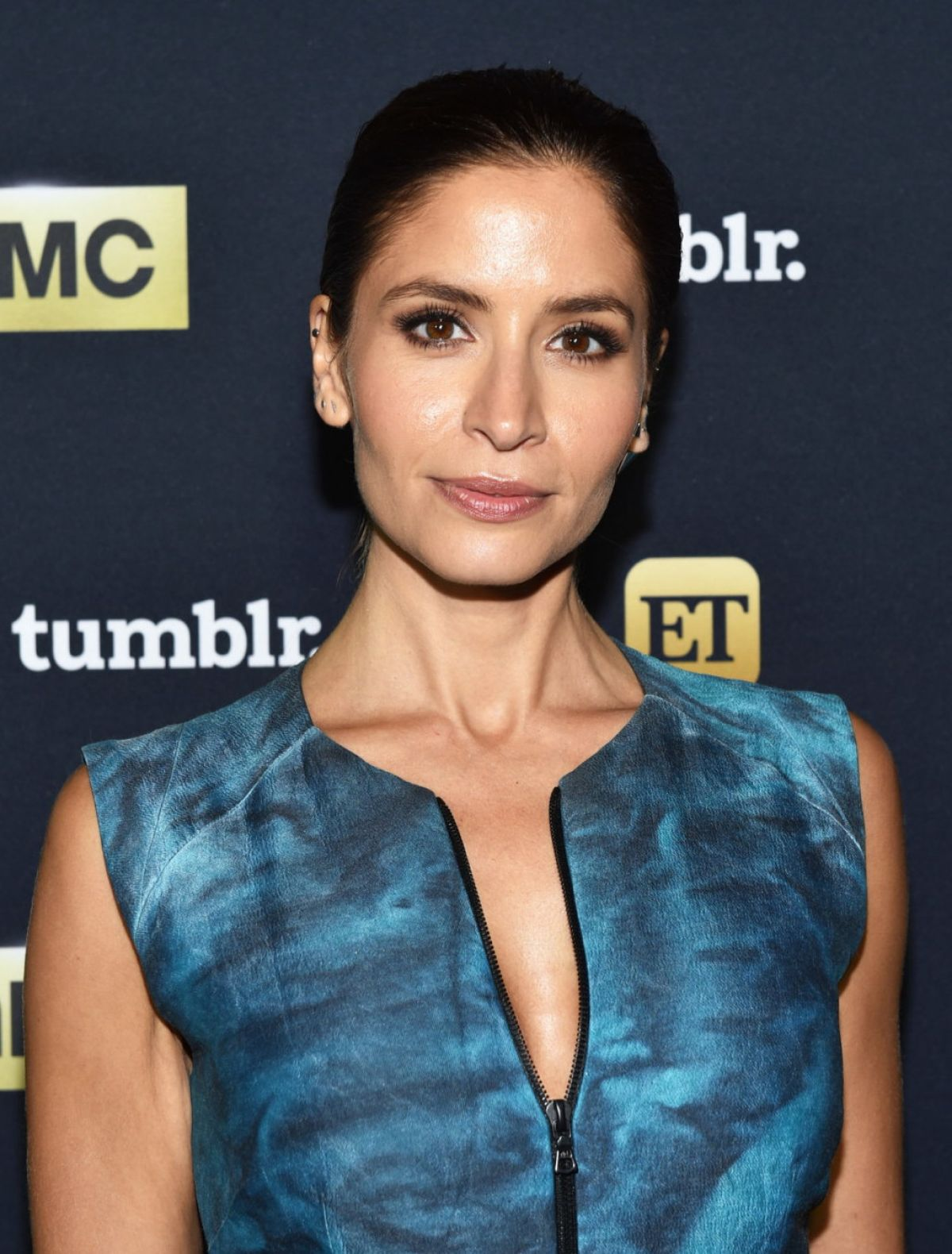 MERCEDES MASON at Fear the Walking Dead Panel at ComicCon in San Diego