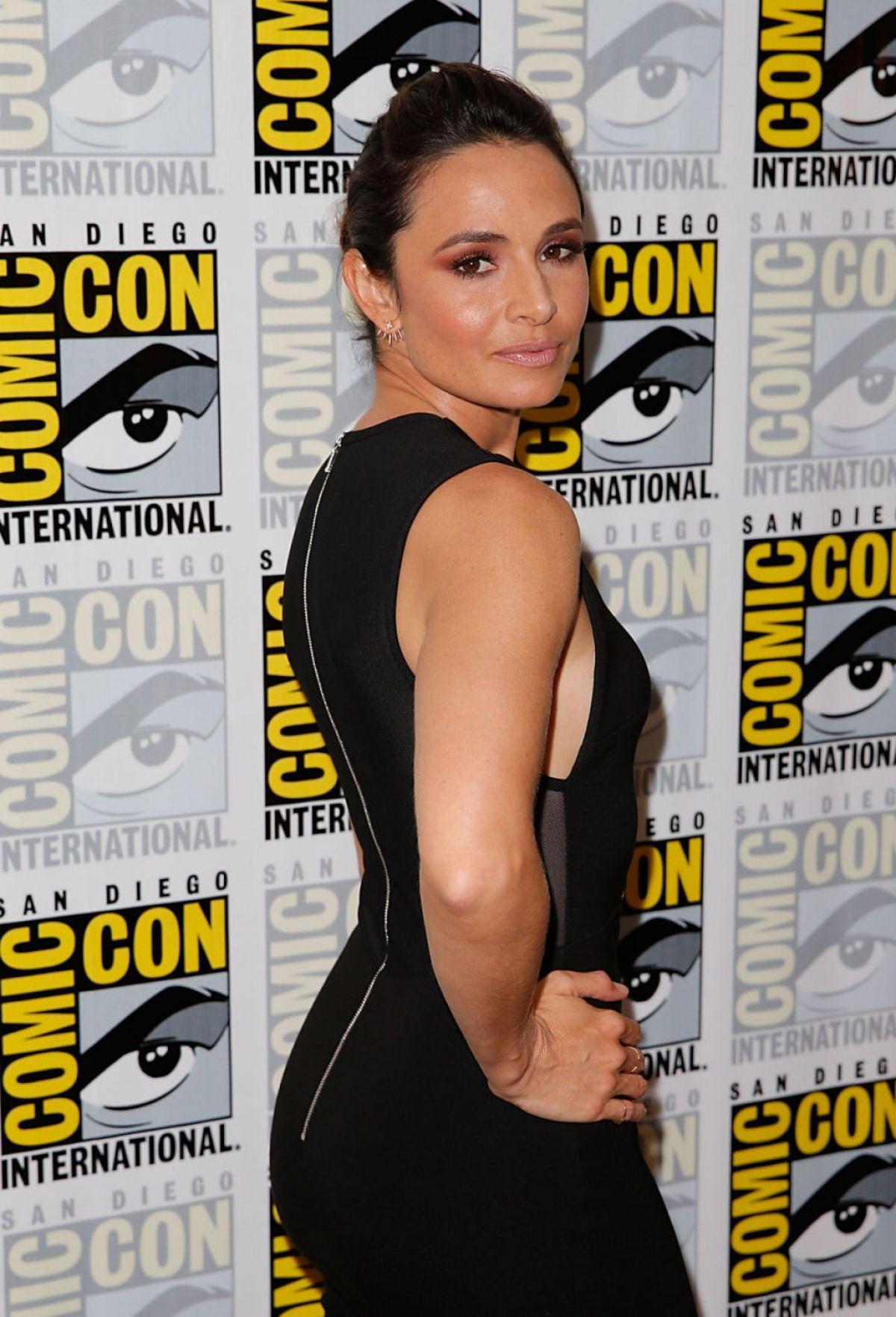 MIA MAESTRO at The Strain Panel at Comic-con in San Diego