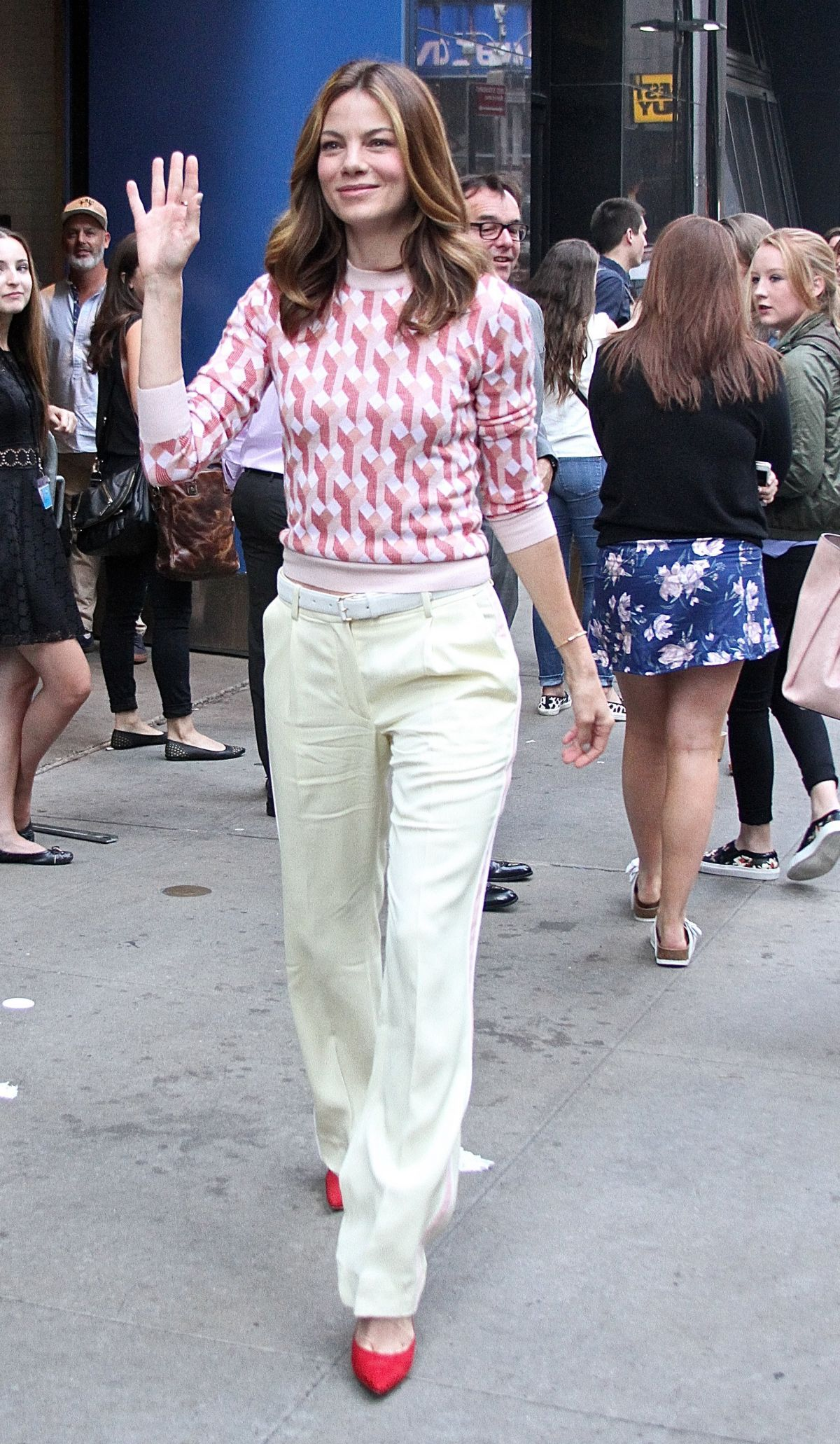 MICHELLE MONAGHAN at Good Morning America in New York 07/20/2015