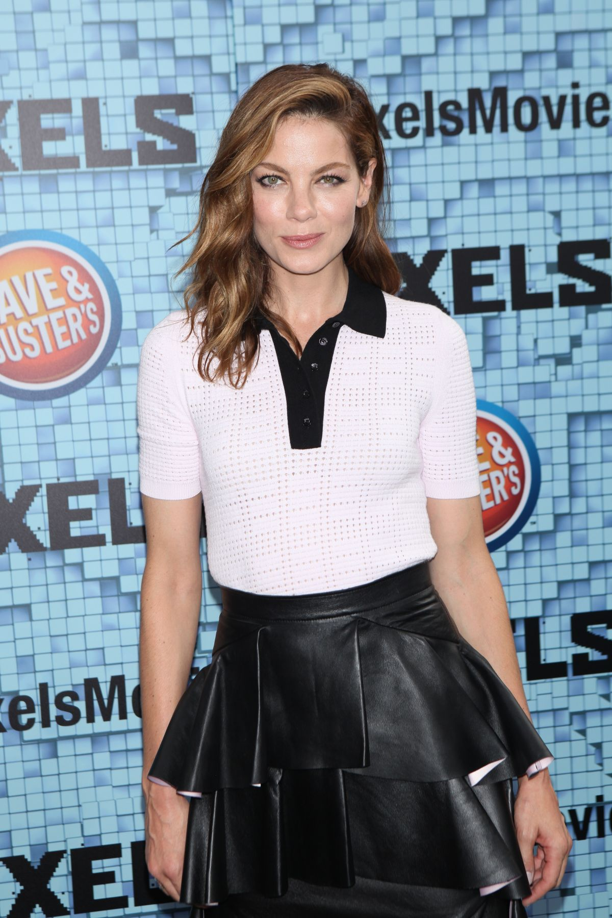 MICHELLE MONAGHAN at Pixels Premiere in New York