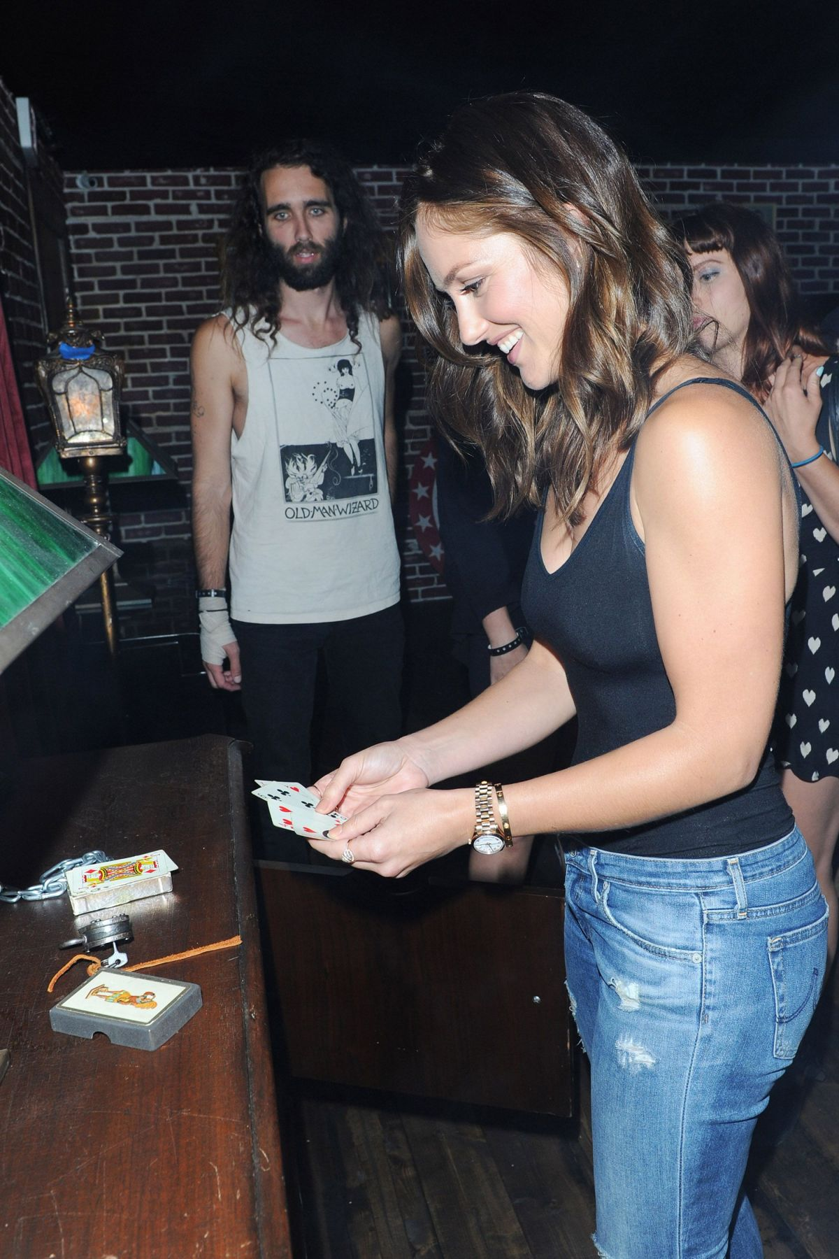 Minka Kelly At Call Of Duty Black Ops 3 Zombies Escape