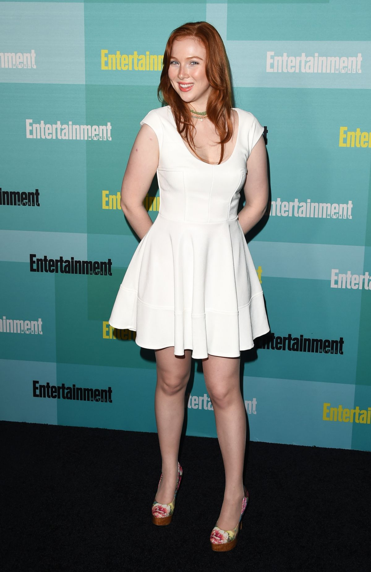 MOLLY QUINN at Entertainment Weekly Party at Comic-con in San Diego