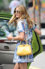 OLIVIA PALERMO Out in Brooklyn 07/20/2015