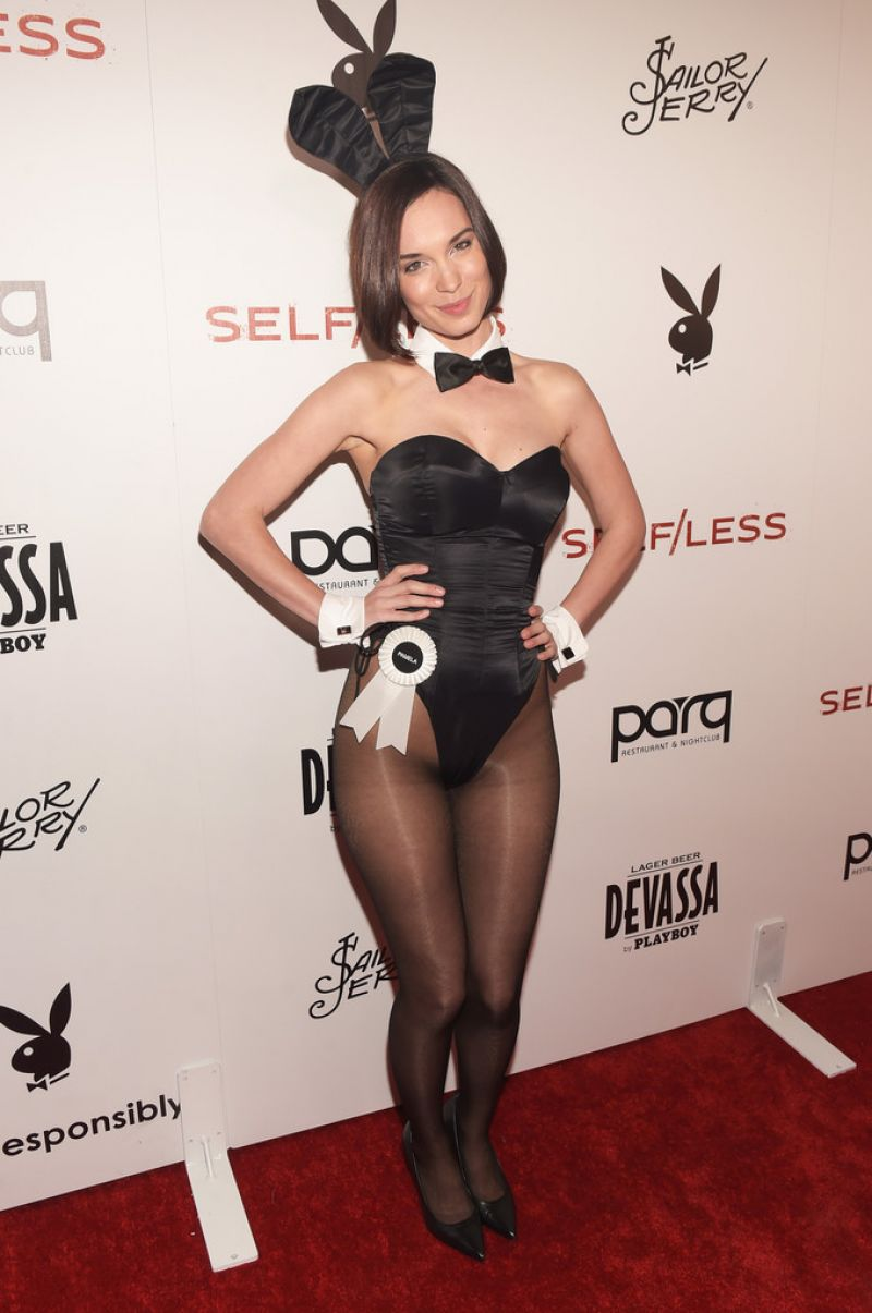 PAMELA HORTON at Playboy Self/Less Party at Comic Con in San Diego