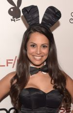 RAQUEL POMPLUN at Playboy Self/Less Party at Comic Con in San Diego
