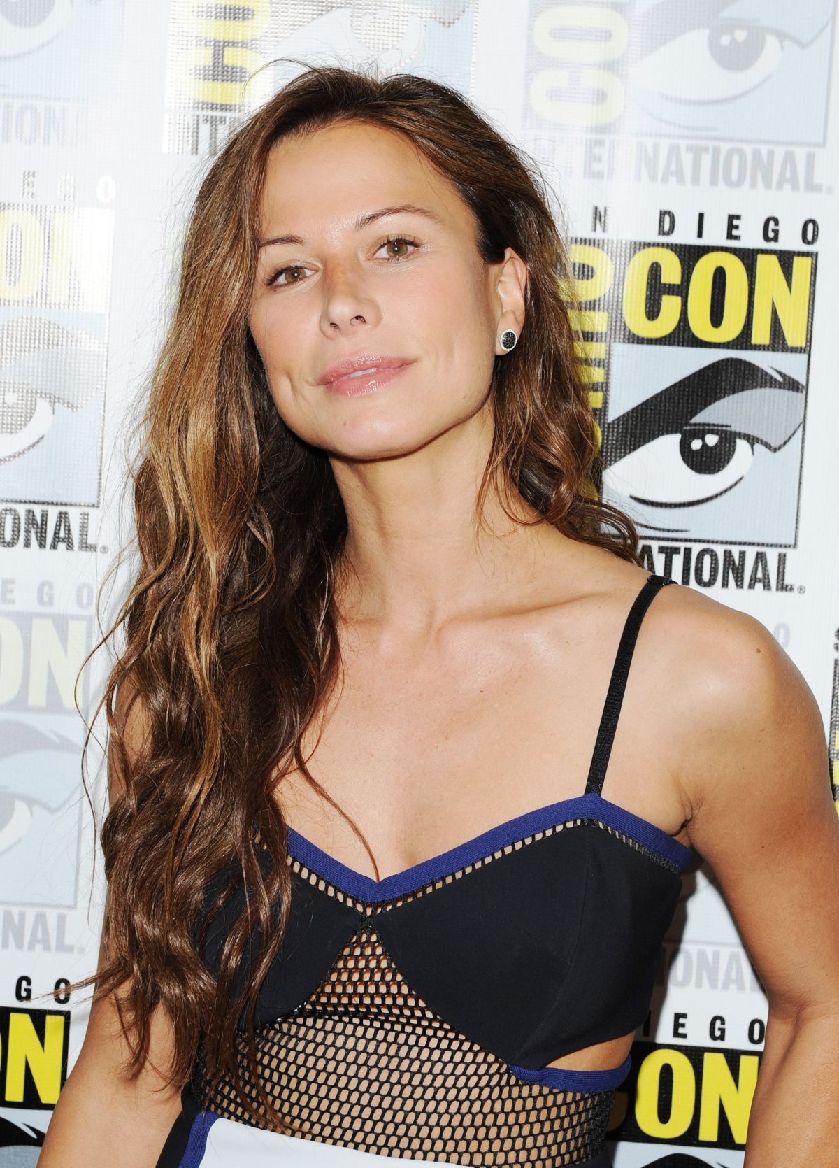 RHONA MITRA at The Last Ship Panel at Comic Con in San Diego