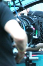 ROONEY MARA on the Set of Blackbird in London 07/01/2015