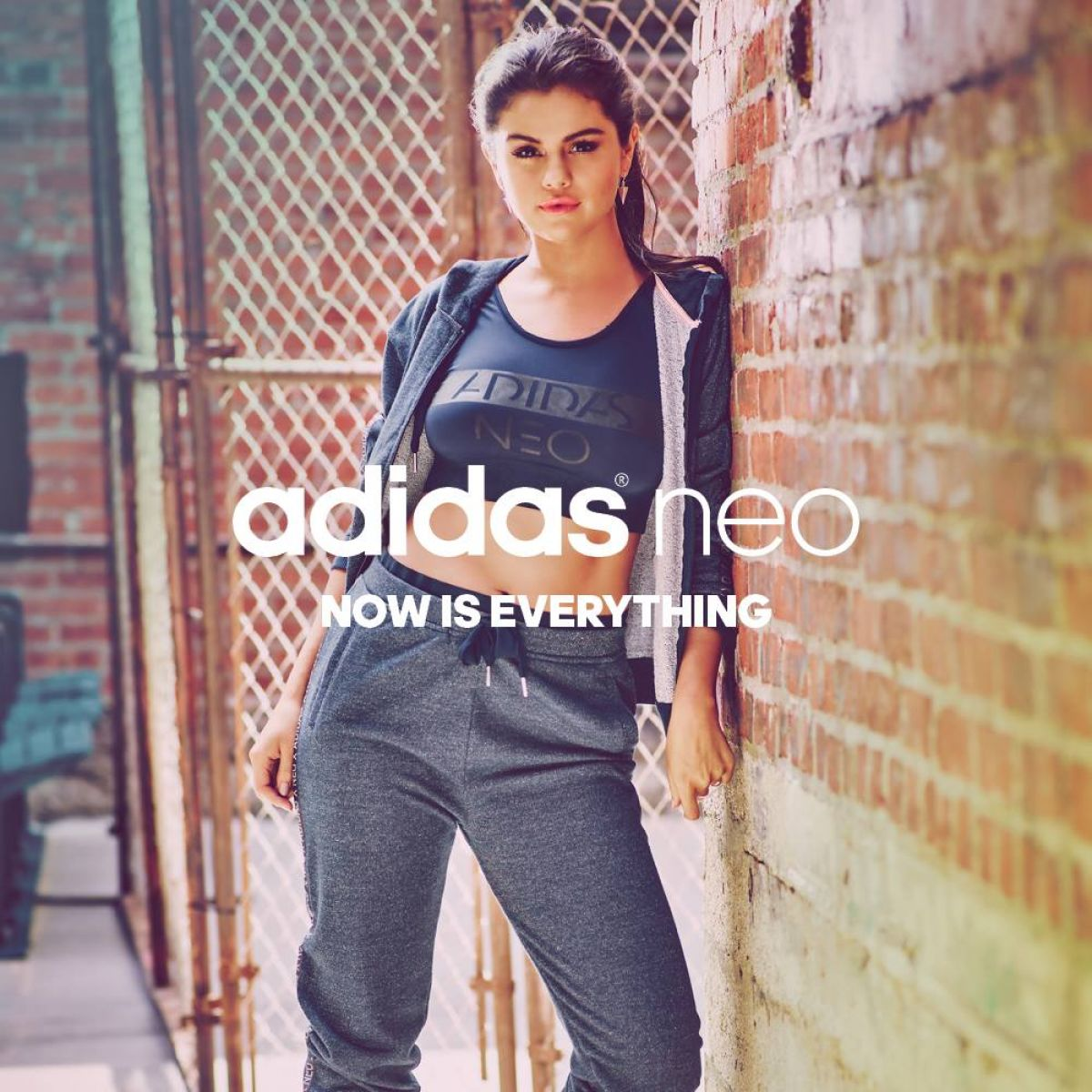 SELENA GOMEZ - Adidas Neo Summer Collection 2014 - HawtCelebs