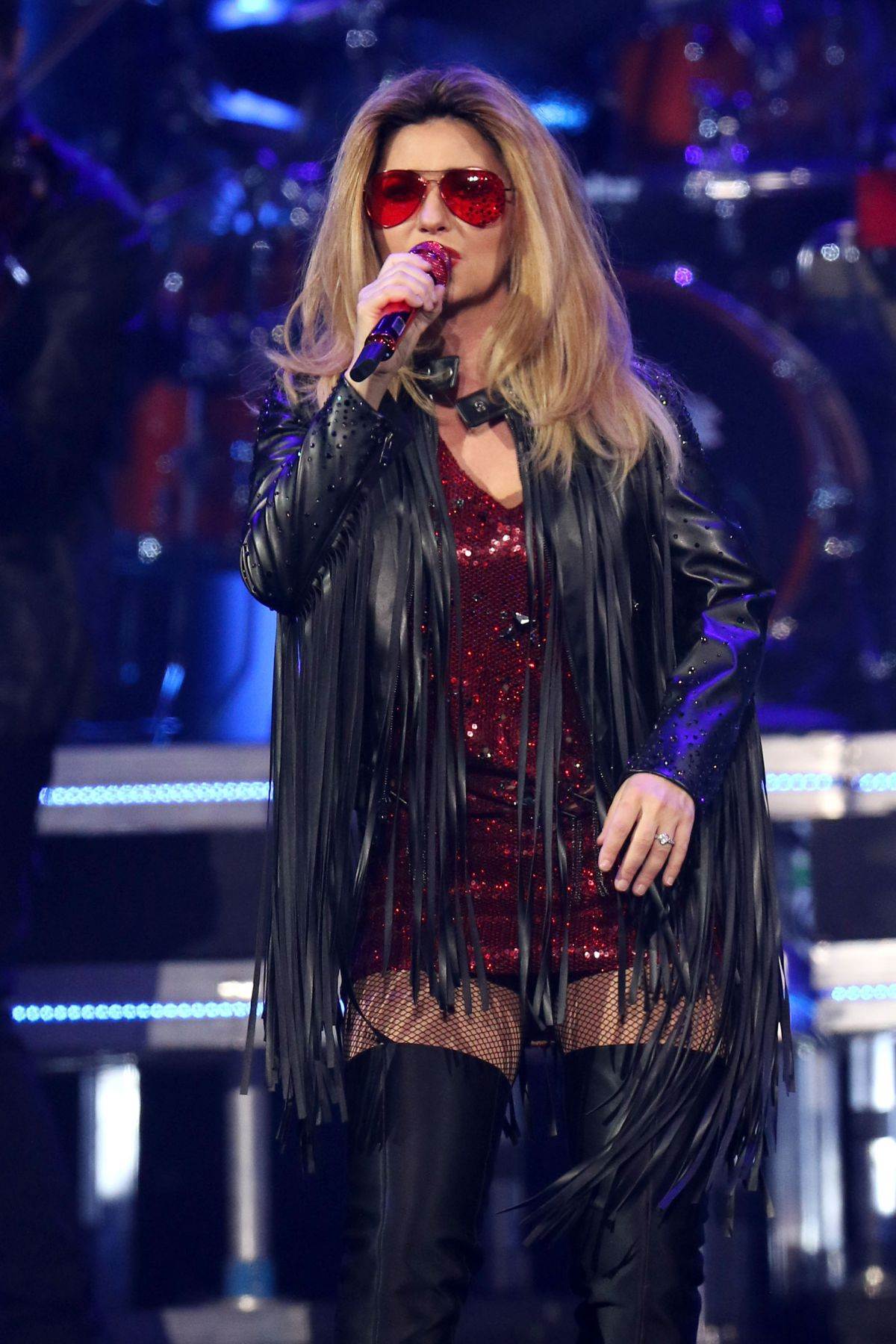 Shania Twain Performs At Msg In New York 06 30 2015
