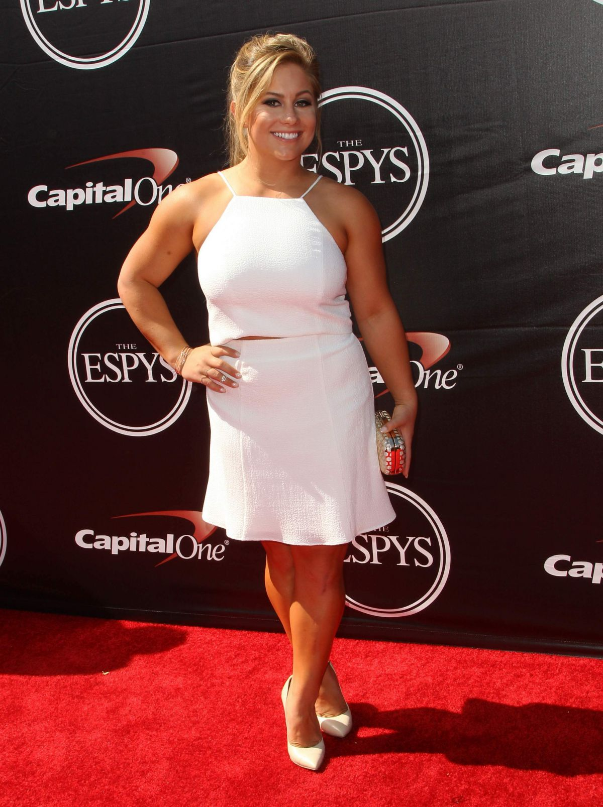 SHAWN JOHNSON at 2015 Espys Awards in Los Angeles