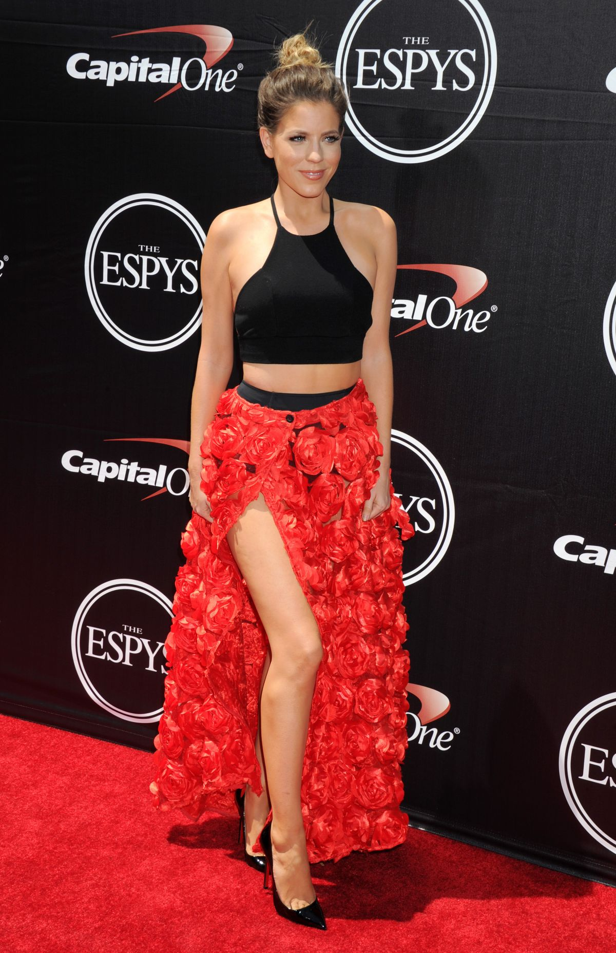 STEPHANIE BAUER at 2015 Espys Awards in Los Angeles