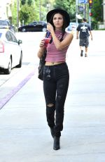 VICTORIA JUSTICE Out and About in Los Angeles 07/20/2015
