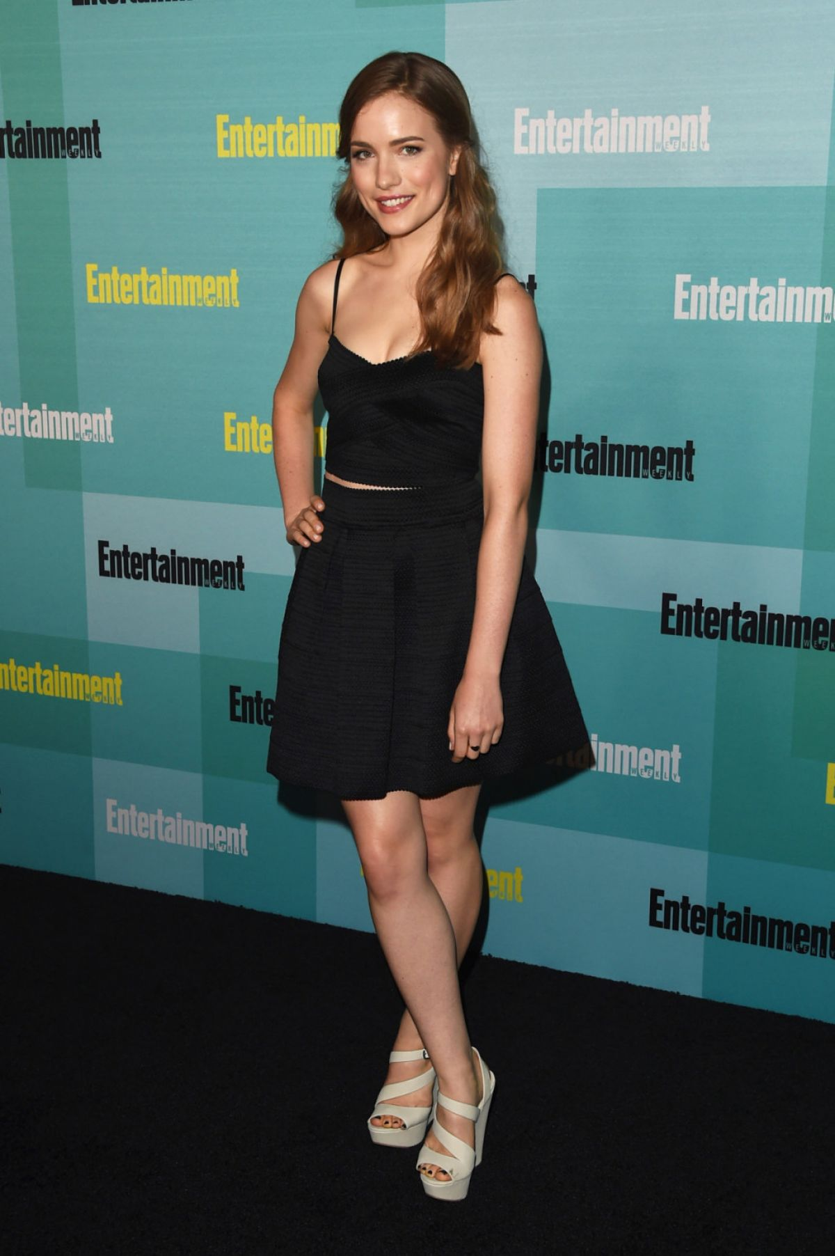 WILLA FITZGERALD at Entertainment Weekly Party at Comic-con in San Diego