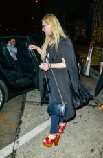 ABIGAIL BRESLIN out for Dinner in Beverly Hills 08/05/2015
