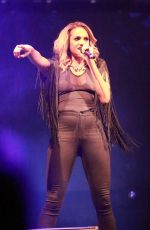 ALESHA DIXON Performs at Manchester Pride Festival in Manchester 08/29/2015
