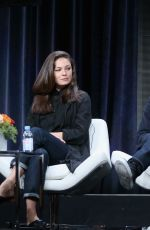 ALEXA DAVALOS at The Man in the High Castle Panel at Summer TCA Tour in Beverly Hills