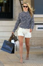 ALI LARTER Out Shopping in Beverly Hills 08/24/2015