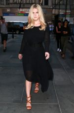 ALICE EVE Arrives at The Today Show in New York 08/26/2015