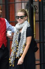 ALICE EVE Leaves The Bowery Hotel in New York 08/05/2015